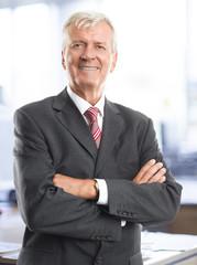 Olde businessman portrait