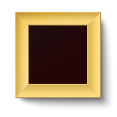 Golden square frame