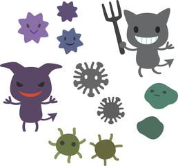 ばい菌とウィルス