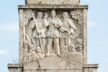 Horea, Closca And Crisan Obelisk In Carolina White Fortress