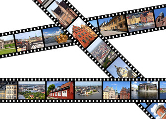 Stockholm, Sweden - travel filmstrips