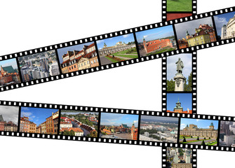 Warsaw - travel filmstrips