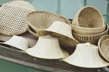 Group of Thai handcraft
