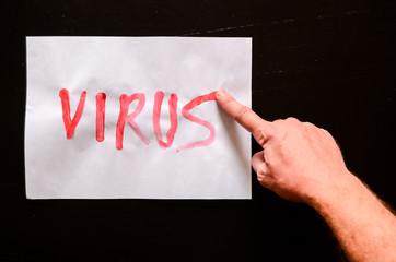 Word Virus Text