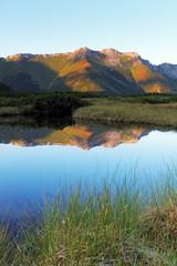 Lake in Slovakia Tatras moutnain