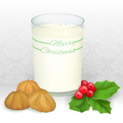 milk for Santa
