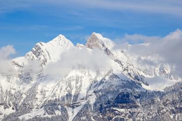 Skiing slope