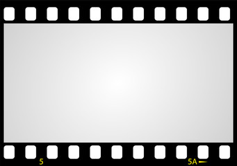 negative picture film frame, vector