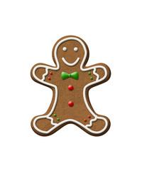 Gingerbread Man Christmas Cookie