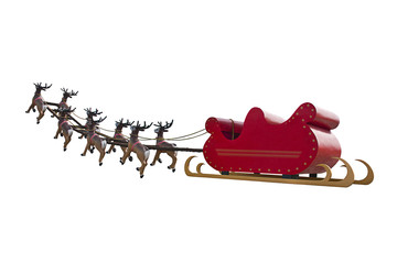 Going to pick Santa Claus up