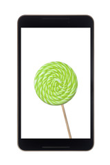 Android tablet with lollipop