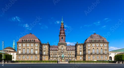 Christiansborg Palace in Copenhagen, Denmark - 73616256