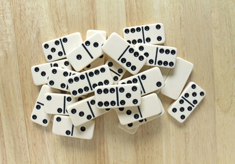 Dominoes Group Cluster Top View