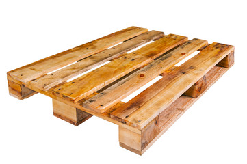 Pallet wood from pine