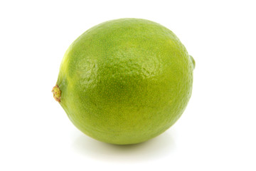 Ripe green lime