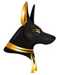 Постер, плакат: the egyptian god anubis