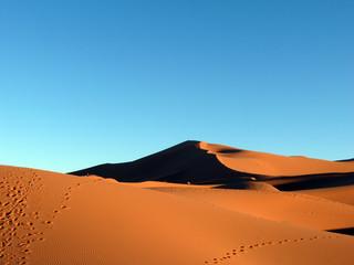 Erg Chebbi Sahara Sand Dunes