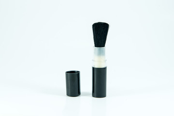 Lens cleaning brush