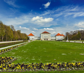 Nymphenburg Palace. Munich, Germany