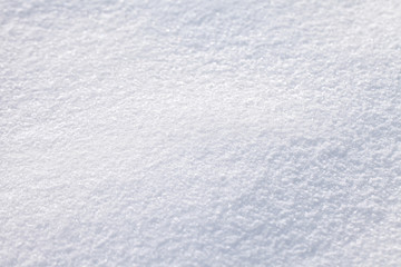 Abstract blurry snow background