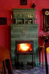 stove, traditional, warm, fireplace, flame, warm,