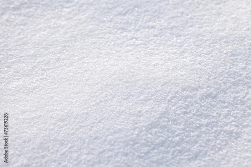 canvas print picture Abstract blurry snow background