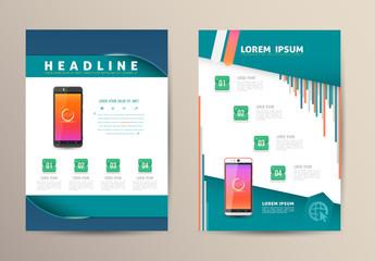 Brochure Flyer design vector template