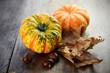 canvas print picture - Herbst Dekoration