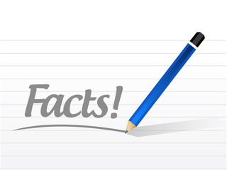 facts message illustration design
