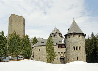 Castle (Burg) Finstergrun, Ramingstein, Austria, Salzburg region