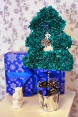 christmas decorated tree