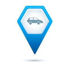 pointer-map-hexagon-car-parking