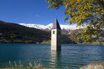 Kirchturm am Reschensee