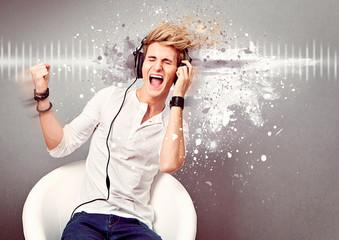 boy singing loud - guy 11