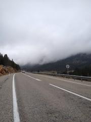 sisli dağlarda ulaşım
