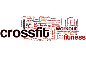 Crossfit word cloud