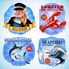 stickers for seafood
