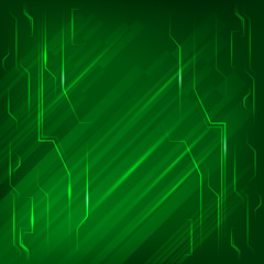 electronics-page-background-green-light-bright-line
