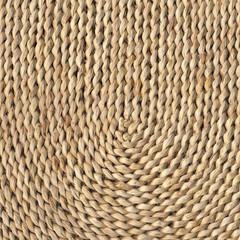 Raffia Mat Grunge Texture Detail