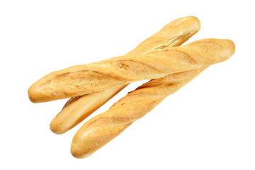 Three French baguette
