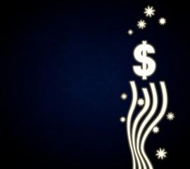 a Dollar design with stars