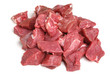 Boneless Lamb Steak Meat Diced