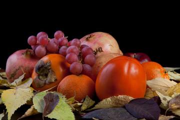 Still life of fruits