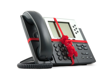 IP Phone with gift wrapping