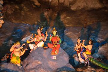 Hindu temple, Batu Caves, Malaysia