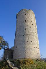 Burgruine Saaleck an der Saale (1140, Sachsen-Anhalt)