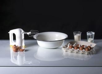 Cooking still-life