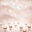 Luxury pearls background - 73631099