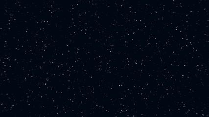 forward motion of a many cosmos small stars