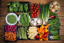 "Постер, картина, фотообои ""farm fresh vegetables"""
